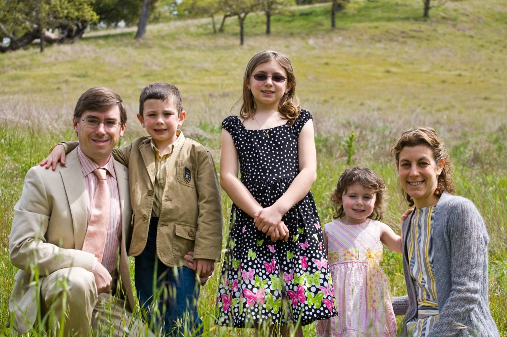The Northcutts looking fine for Easter 2012