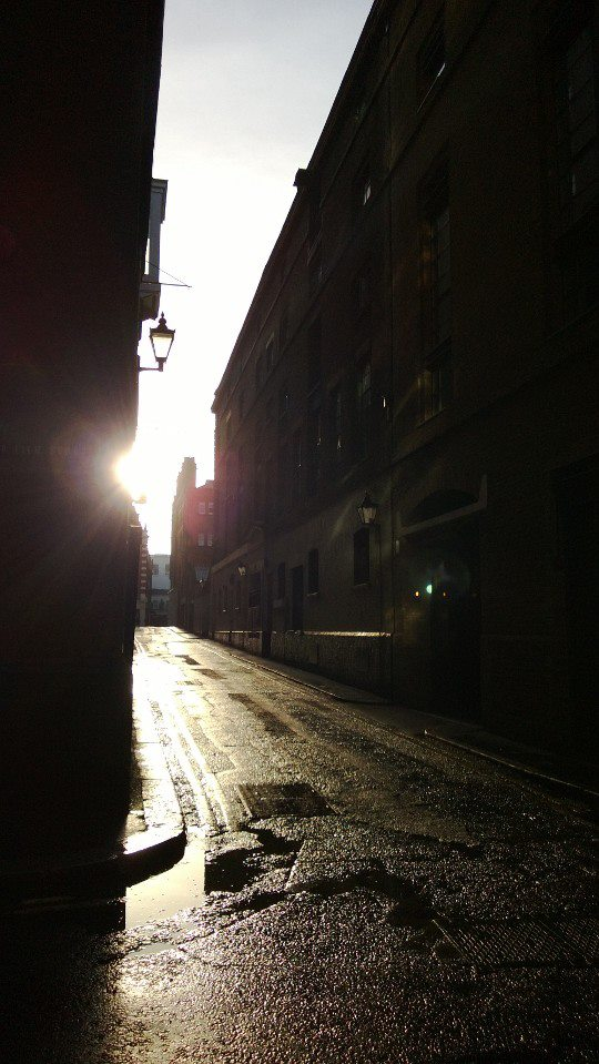 On my last day in London for work I wandered around SoHo just as the sun was rising. There are benefits to not being able to sleep.