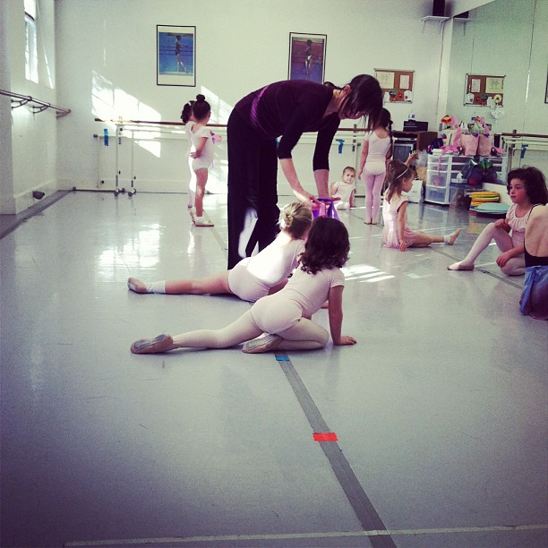 It's observation week at Cora's dance class.